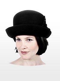 Cloche Hut schwarz