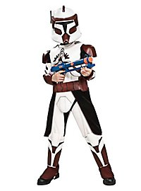 Clone Trooper Commander Fox Kids Costume