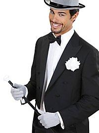 Cloth gloves grey