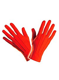 Cloth gloves red