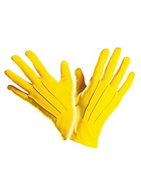 Cloth gloves yellow