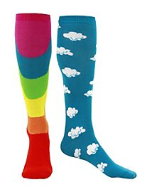 Clouds & Rainbows Socks