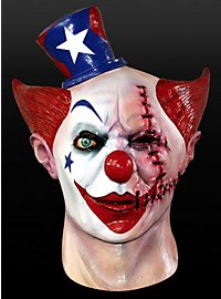 Clown balafré Masque en latex