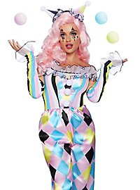 Clown checkered costume