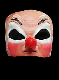 Clown Face  Latex Half Mask