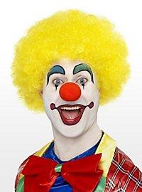 Clown gelb Perücke