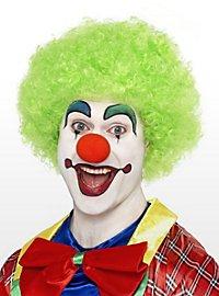Clown grün Perücke