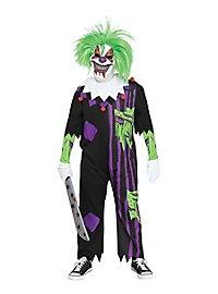 Clown Killer Kinderkostüm