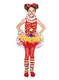 Clown Kinderkostüm für Mädchen