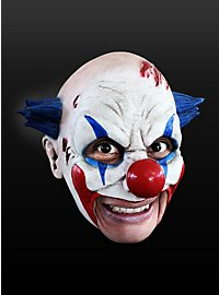 Clown Kinnlose Maske aus Latex