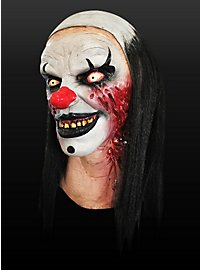 Clown Mask Devil Woman Made of Latex