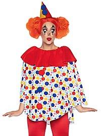 Clown Poncho mit Hut