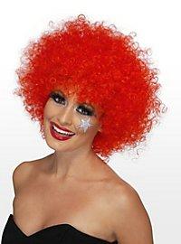 Clown rot Perücke