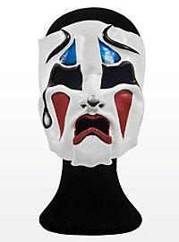 Clown tragique Masque en cuir