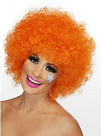 Clown Wig orange