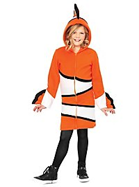 Clownfish Hoodie Dress for Kids