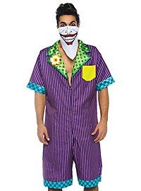 Clownschurke Jumpsuit Kostüm