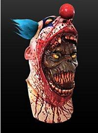 Clownsmaske Parasit aus Latex