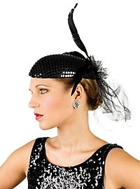 Cocktail Hat black