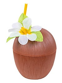 Coconut drinking cup