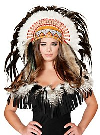 Coiffe à plumes de Sioux