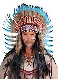 Coiffe en plumes Navajo