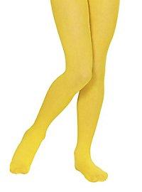 Collants jaunes pour enfant