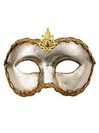 Colombina argento - Venezianische Maske