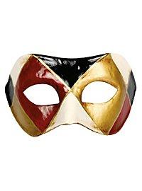 Colombina arlecchino classico - Venezianische Maske
