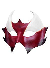 Masque vénitien en cuir Colombina Cerbero