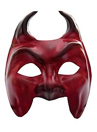 Colombina Diavolo Venetian Leather Mask