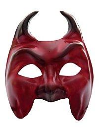 Colombina Diavolo Venezianische Ledermaske