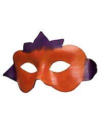 Colombina Fiore Masque en cuir vénitien