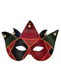 Colombina Joker Masque en cuir vénitien