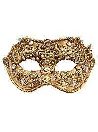 Colombina macrame oro - Venezianische Maske