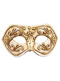 Colombina Monica oro bianco - Venezianische Maske
