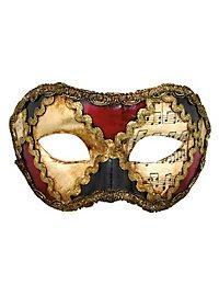 Colombina scacchi colore musica - Venezianische Maske
