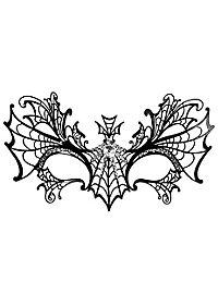 Colombina Vedova Nera de metallo Masque métallique vénitien