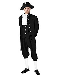 Colonial Gentleman black Costume