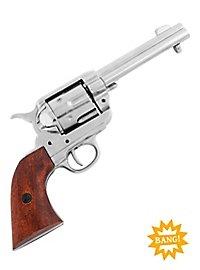 Revolver - Colt Peacemaker (chromfarben)