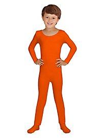 Combinaison orange pour enfant