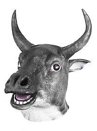 Comic Bull Latex Full Mask