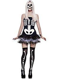 Comic skeleton dress