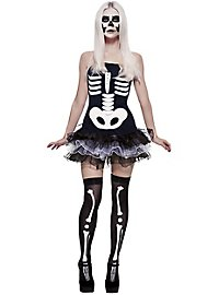 Comic Skelett Kleid