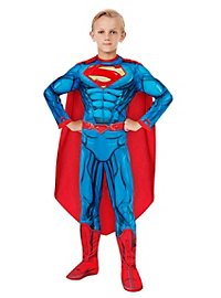 Comic Superman Kids Costume