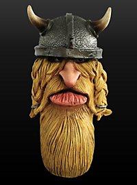 Comic Wikinger Maske aus Latex