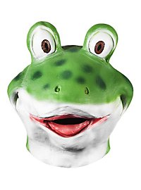 Comicfrosch Maske aus Latex