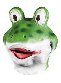 Comicfrosch Maske aus Latex