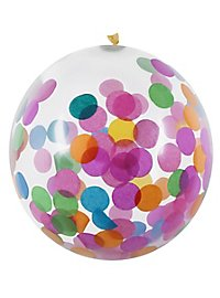 Confetti balloon coloured 5 pieces