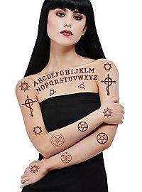 Conjuring Sticky Tattoos